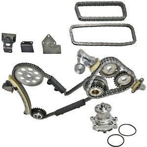 Timing Chain Kit For 2001 2004 Chevrolet Tracker W Water Pump