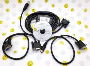 Usb Rs232 Df1 Allen Bradley 1747 cp3 1761 cbl pm02 Plc Programming Cable Kit