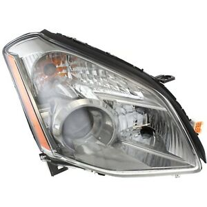 Headlight For 2008 Nissan Maxima Se Sl Models Right With Bulb
