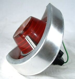 1962 Chevrolet Chevy Rb 62 Auto Car Back Up Tail Light Assembly Lens 5953477