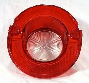 1964 Chevrolet Chevy Rb 64 Automobile Auto Car Back Up Tail Light Lens 5955336