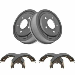 Rear Brake Shoes Drums Kit Set For Ford Bronco F150 E150 Van