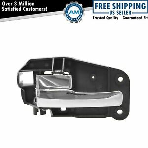 Door Handle Chrome Interior Front Driver Side Left Lh Lf For 00 02 Lincoln Ls