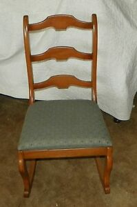Maple Sewing Rocker Rocking Chair R173