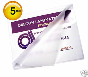 200 Letter Size 5 Mil Hot Laminating Pouches 9 X 11 1 2 Clear