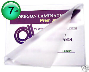 Hot 7 Mil Laminating Pouches 100 Letter 9 X 11 1 2 Clear