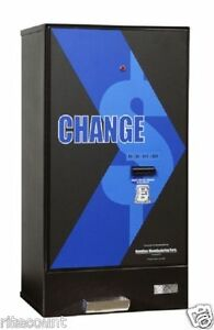 Hamilton 2600v Bill Changer Single Acceptor High Capacity Holds 10 400 Qtrs