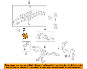 Hummer Gm Oem H2 Dash Air Vent Ac A C Heater Duct Outlet Louvre Left 20863700