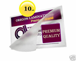 500 Hot 10 Mil Letter Laminating Pouches 9 X 11 1 2 Clear