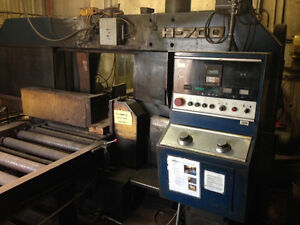 Amada Ha700 Dual Column Automatic Band Saw 1988