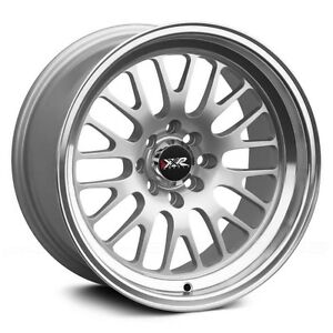 15x8 Xxr 531 Wheels 4x100 114 3 20mm Hyper Silver Rim Fits Civic Cabrio