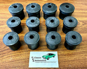 Nova Leaf Spring Bushing Set 12pc 62 67 Rubber in Stock Multileaf Monoleaf