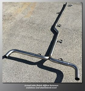 04 08 Acura Tsx Mandrel Dual Exhaust By Trubendz 2 5 Stainless Steel Tubing