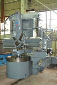 46 Bullard dynatrol High Column Vertical Boring Mill 27155