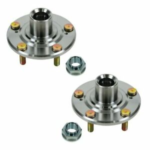 5 Lug Front Wheel Hub Pair Set For Honda Accord Cr V Element Acura Cl Rsx Tl