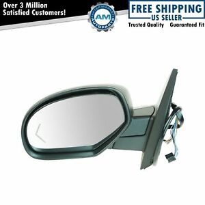 Mirror Power Folding Heated Memory Puddle Signal Textured Left For Gm Pickup Suv