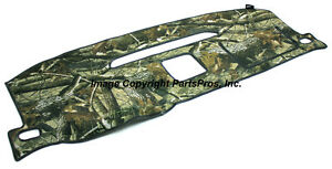 New Realtree Hardwoods Camo Camouflage Dash Mat Cover Listed 07 13 Chevy Truck