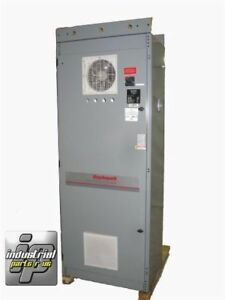 Hoffman Enclosure Control Cabinet 86 X 34 X 24 W 30 Amp Fused Service Hinged