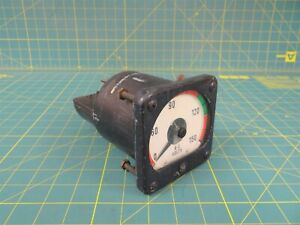 General Electric Ab 14 Ac Voltmeter Model 8ab 14v7ak1 0 150 Ac Volts