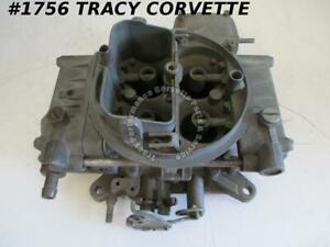 1955 80 Holley 4224s 0248 660 Cfm Tunnel Ram Carb Needs Rebuilding Before Using