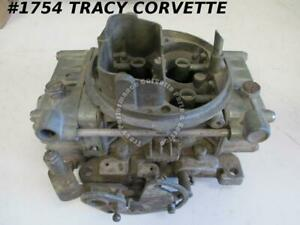 1955 80 Holley 4224 1449 660 Cfm Tunnel Ram Carb Needs Rebuilding Before Using