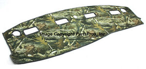 New Realtree Hardwoods Camo Camouflage Dash Mat Cover For 2003 05 Dodge Ram