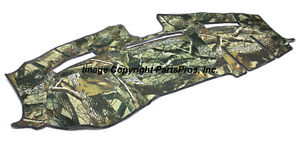 New Realtree Hardwoods Camo Camouflage Dash Mat Cover For 2010 13 Dodge Ram