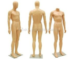 Unbreakable Male Plastic Durable Mannequin Display Dress Form Ps sm1feg