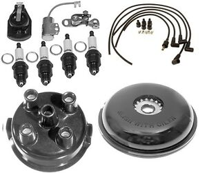 Complete Tune Up Kit For Ford 8n Tractor W Side Mount Distributor Sn 263844 up