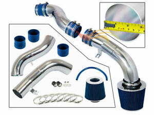 Blue Cold Air Intake Kit Dry Filter Fit For 03 07 Hyundai Tiburon Gt 2 7l V6