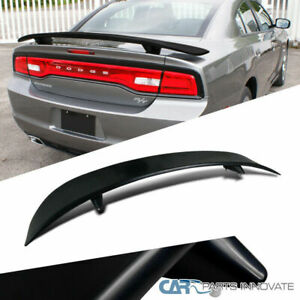 11 18 Dodge Charger 4dr Sedan Daytona Style Abs Black Rear Trunk Spoiler Wing