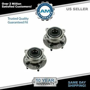 Wheel Bearing Hub Assembly Rear Pair For Santa Fe Veracruz Sorento Awd