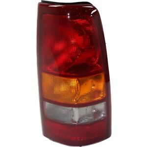 Tail Light For 99 02 Chevrolet Silverado 1500 01 02 2500 Hd Rh Fleetside Assy