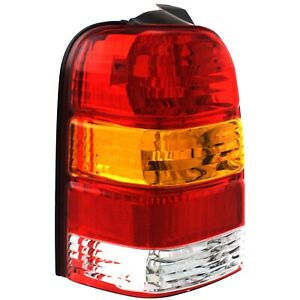Tail Light For 2003 2007 Ford Escape Limited Lh Amber Clear Red Lens
