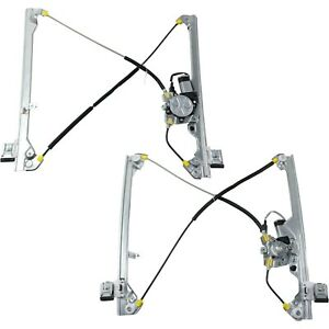 Power Window Regulator For 99 2006 Chevrolet Silverado 1500 Set Of 2 Front