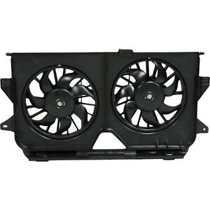 Radiator Cooling Dual Fan Assembly For Grand Caravan T C