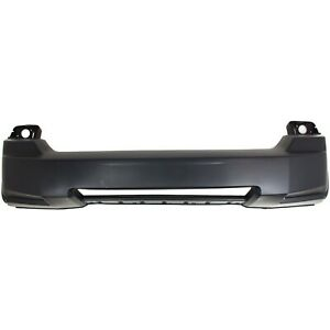 Bumper Cover For 2008 2012 Jeep Liberty Front Plastic W lower Moulding Hole Capa