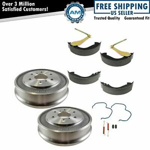 Rear Brake Drum Shoe Hardware Set Kit For Chevy Silverado Gmc Sierra 1500 New