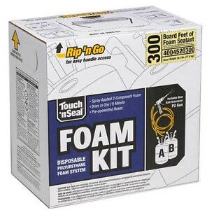 Touch N Seal 300 Bf Spray Foam Insulation Kit Fire Retardant Open Cell