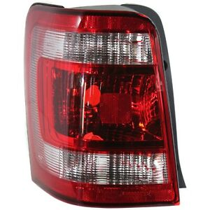 Tail Light For 2008 2012 Ford Escape Driver Side