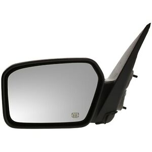 Power Mirror For 2006 2012 Ford Fusion 2006 2011 Mercury Milan Left Black Heated