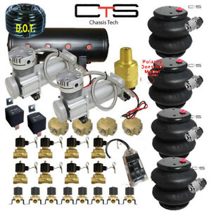 Fbss Air Suspension Kit Bags Valves Tank Pswitch Airline Compress Switch Cross