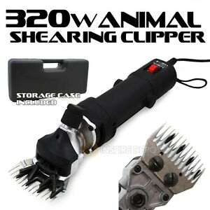 320w Livestock Animal Clippers Grooming Shave Shears Farm Sheep Goat Lamp Camel