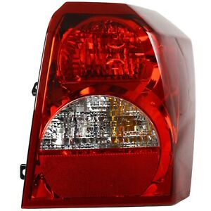 Tail Light For 2008 2012 Dodge Caliber Passenger Side