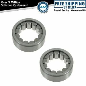 Wheel Axle Shaft Bearing Rear Pair For Gm Hummer Isuzu Saab With 8 5 Ring Gear