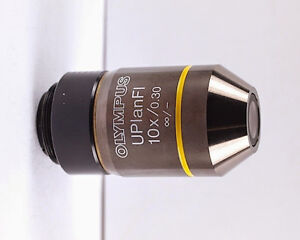 Olympus Uplanfl 10x 30 Microscope Objective For Bx Ix W Nd Filter
