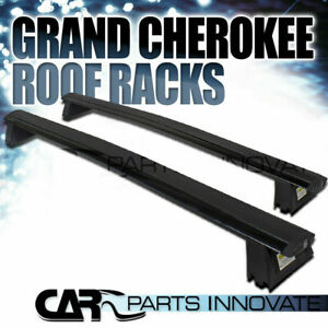 11 18 Jeep Grand Cherokee Black Roof Top Cross Bars Crossbars Rack Cargo Carrier