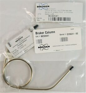 New Bruker Bc90041 Packed Gc Column In Stainless Steel 5m X 2 1mm Id X 1 8 od