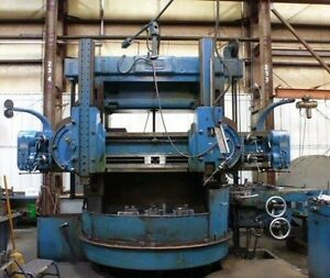 72 King Vertical Boring Mill model 72 27269