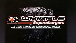 Whipple 11 12 Ford Mustang Gt 2 3l Sc Kit Intercooled Black Wk 200780p